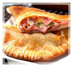 BBQ Turkey Pizza Pockets