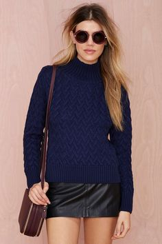 Finders Keepers Strange Ways Knit Sweater | Shop What's New at Nasty Gal