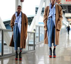 Get this look: http://lb.nu/look/8579103  More looks by Dominic Grizzelle: http://lb.nu/user/6091383-Dominic-G  Items in this look:  Solestruck Dolce Vita Wedges, Thrift Levis, Thrift Oversized Button Up, Thrift Trench Coat   #edgy #grunge #vintage #ootd #griztriz #dolcevita #solestruck #menswear