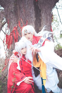 BAOZI and HANA(包子 & HANA) Sesshomaru Cosplay Photo - Cure WorldCosplay