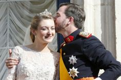 Newly married royal couple- Luxembourg Royal Wedding