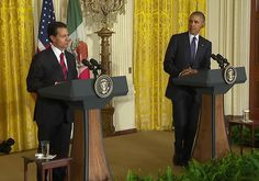 Story: President Obama Shares His Facts With Mexican President Pena Nieto - by Randy Foreman - WASHINGTON - (NewsBlaze) - In the White House Press pool, Independent Journal Review's White House Correspondent Kate Glassman Bennett has a talent that no one to my knowledge in a year and a half in the West Wing possesses. Kate can figure out the designer of some political celebrity's clothing... #Opinions