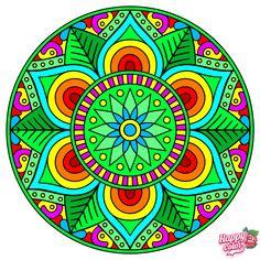 Mandala Art Lesson, Mandala Artwork, Mandala Drawing, Mandala Painting, Rock Painting, Small Rangoli Design, Beautiful Rangoli Designs, Mandala Design, Coloring Apps
