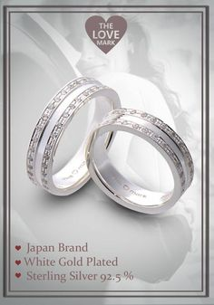 #LoveMarkPH #JOTD: Double Eternity Silver Couple Rings, a glamorous white gold-plated ring that adds an incredible sparkle for festive occasions. Available on Facebook: https://www.facebook.com/lovemarkph