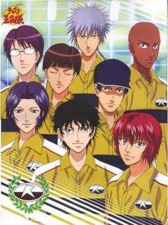 anime, the prince of tennis, masaharu niou, rikkaidai, seiichi yukimura, bunta marui, renji yanagi, genichiro sanada, akaya kirihara, hiroshi yagyuu, jackal kuwahara