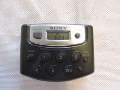 Sony Walkman TV Weather FM AM Radio Model SRF-M37V w/ Belt Clip Free Shipping #Sony