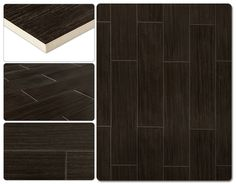 Ceramic Tile - Terrain Series - Refined Coal