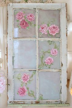 S ℎ a b b y . C ℎ i c...... If you can't PAINT these, you can always decoupage!