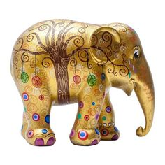 Buy the Elephant Parade 10 cm Tree of Life painted elephant sculpture by Diana Francis from homeArama and support the Asian Elephant Foundation. Asian Elephant, Elephant Love, Elephant Art, Elephant Stuff, Elephant Sculpture, Lion Sculpture, Elefante Hindu, All About Elephants, Elephant Parade