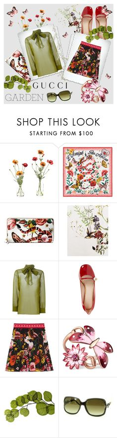 """""""Presenting the Gucci Garden Exclusive Collection: Contest Entry"""" by na-pan ❤ liked on Polyvore featuring NDI, Gucci, Dot & Bo and gucci"""