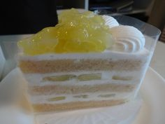 Luxurious melon shortcake from New Otani