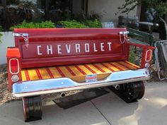 Tailgate bench got your back and butt covered