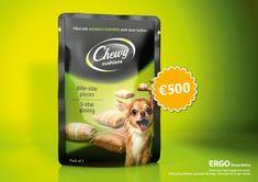 Cover your dog's expensive tastes. Advertising Agency: TRACK, Germany Creative Director: Anne Katrin Trybek Art Directors: Markus Werner, Steven
