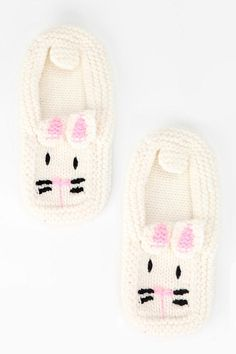 Bunny Slippers. Cuter in person. Too cute for their own good.  #UrbanOutfitters