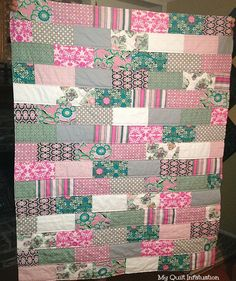 Good how-to for machine quilting.  My Quilt Infatuation: Beginner QAL- Quilting!