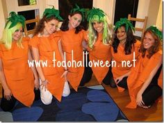 carrot costume for nate & bunny costume Group Costumes, Diy Costumes, Halloween Costumes, Costume Ideas, Halloween Inspo, Group Halloween, Diy For Kids, Cool Kids, Vegetable Costumes