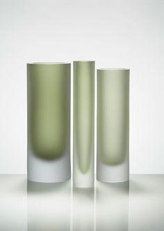 Glass Vessels by Belgian Designer Anna Torfs
