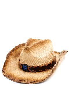 woven cowgirl hat