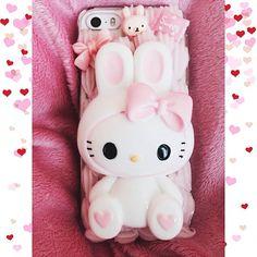 hello kitty bunny phone case ♥
