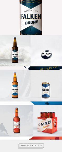 Falken. The Sea Men (and Women) Beer (Concept) - Packaging of the World - Creative Package Design Gallery - http://www.packagingoftheworld.com/2017/01/falken-sea-men-and-women-beer.html