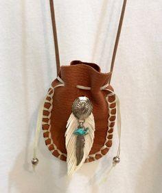 Southwestern Spirit Leather Necklace by ButterflyCreekJewels