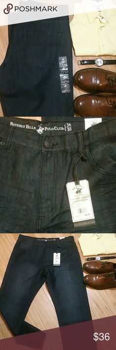 Polo jeans size 36 x 30 Polo jeans size 36 x 30, dark indigo blue, new with tag Polo Jeans Straight