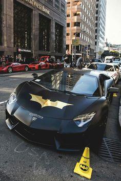 Batman and Superman Lamborghini