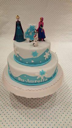 Frozen Cake Eiskönigin Torte Elsa Anna Olaf