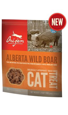 Alberta Wild Boar Freeze Dried CatTreat