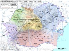 Subdialects of the Romanian language. Romanian Language, Funny Animal Quotes, Historical Maps, Old Things, Infographics, Addiction, Country, People, Europe