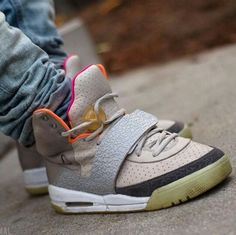 "Nike Air Yeezy ""Zen Grey"""