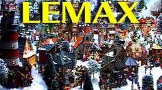Ultimate Lemax Miniature - Christmas Village, via YouTube.