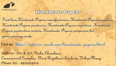 Handmade papers and their use has become quite common these days. This is not only because of their aesthetic reason, but also because of their environment friendly feature. These  handmade papers are used to make quite a lot of things. Many people make décor items at home and run a cottage industry