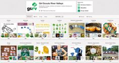 I've had lots of fun setting up GSRV on Pinterest. Follow for cool kid craft ideas, Girl Scout news and leader resources