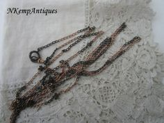 Antique muff chain 1900 by Nkempantiques on Etsy