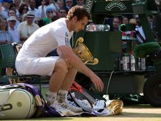 Trophy troubles for Andy Murray.