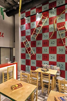 Best Cafe Design Images On Pinterest Board Games Table Games - Restaurant table games