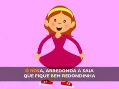 Ó Rosa arredonda a saia (book aprender brincando 4-5  pg9.)