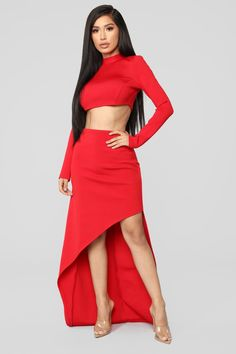 2cc0d67ccd5 Always In My Head Bandage Skirt Set - Red. Bandage Skirt Outfit, Skirt  Outfits ...