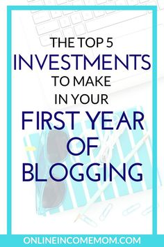These 5 blogging investments will help you find success and cut down the time spent trying to build your blog! Blogging Tips | Business Tips via @Kecia Hambrick - Blogging | Social Media | Work at Home