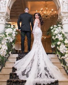 Amy Rizzuto Photography is a NYC Wedding Photographer and NJ Wedding Photographer for adventurous couples in love. Pronovias Wedding Dress, Elegant Wedding Dress, Dream Wedding Dresses, Wedding Goals, Wedding Pics, Wedding Bride, Wedding Ceremony, Nyc Wedding Photographer, Wedding Photography