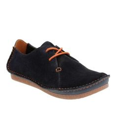 56f76a51f Clarks Women s Janey Mae Casual Lace Up Suede Oxford Shoes Navy 26121914