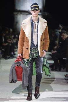 Dsquared2 Men's RTW Fall 2015 - Slideshow