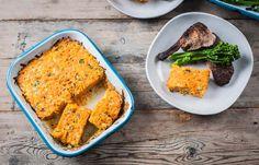 Cheesy carrot bake - Marcus Wareing