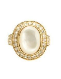 Pearl Engagement Rings:   Here's A Secret-  Do the Tooth Test to Determine Whether the Pearl is Real or Fake