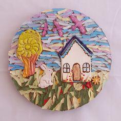 House Keyring Hook Mosaic workshop @ 2018 Hobby-X Jhb000