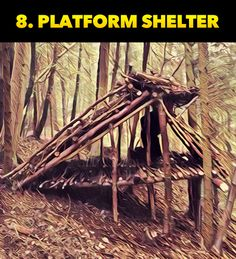 The Top Ten Survival Shelters For Wilderness Survival Scenarios - Survival Knife, Survival Tips, Survival Skills, Survival Stuff, Outdoor Survival, Survival Shelter, Wilderness Survival, Bug Out Location, Survivor Quotes