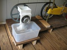 Bicycle Power for the Country Living Grain Mill
