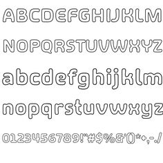 SHA OUTLINE FONT Top Free Fonts, Free Fonts Download, Online Fonts, Typography, Lettering, Outline, Math, Ideas, Letterpress