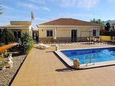 Property for sale Almeria. FANTASTIC HIGH SPEC spec 3 bed 3 bath villa with detached garage, swimming pool, Solarium, workshop and excellent views.Arboleas, Almeria